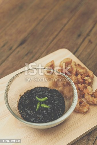 istock Thai northern Crab Paste Chilli Pepper Sauce 1194658323