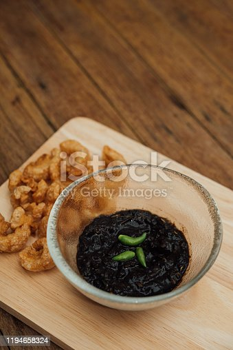 istock Thai northern Crab Paste Chilli Pepper Sauce 1194658324