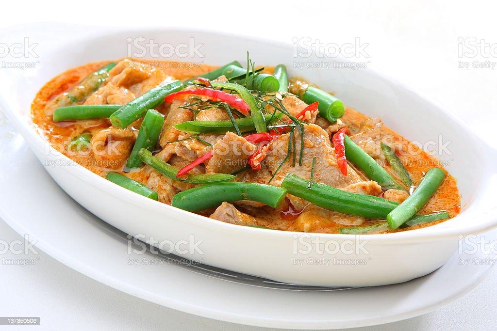 Thai Panang royalty-free stock photo