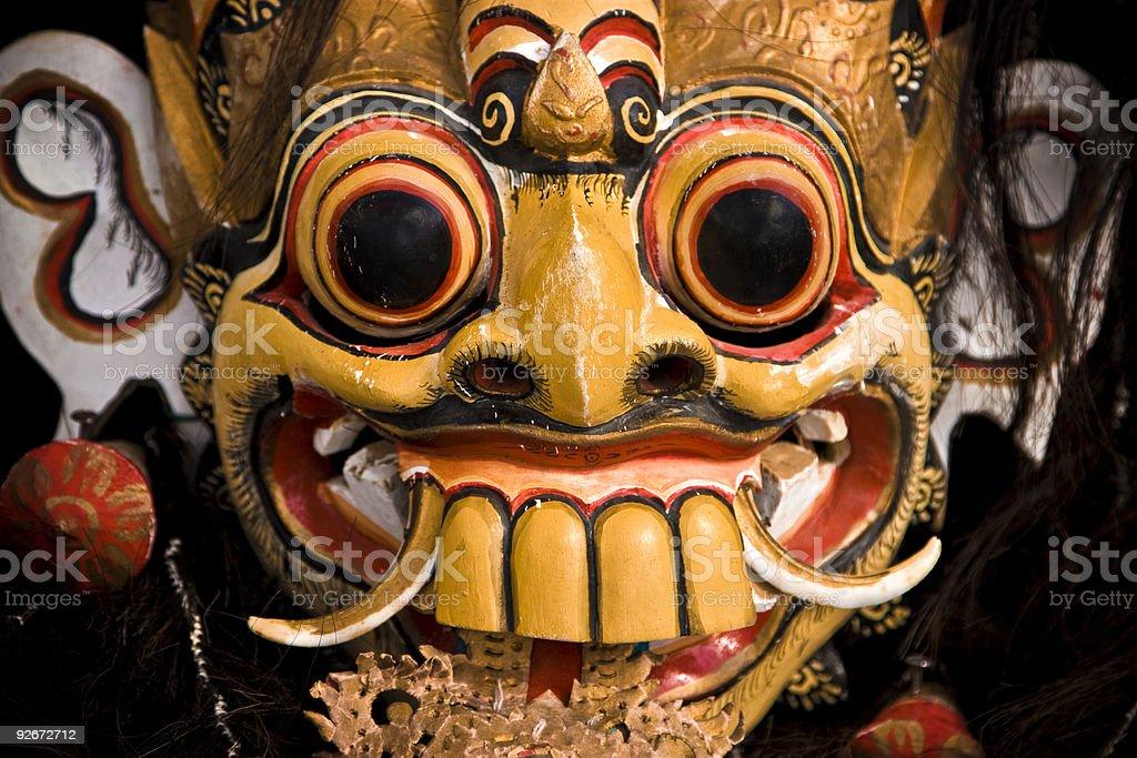 Thai Rakshas mask royalty-free stock photo
