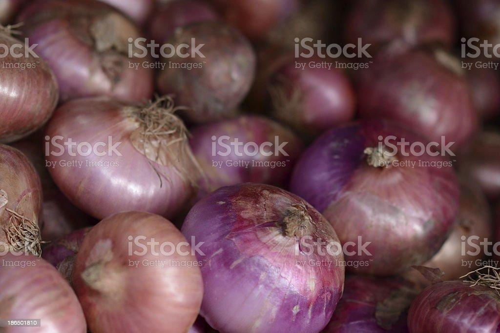 Thai red Onion royalty-free stock photo