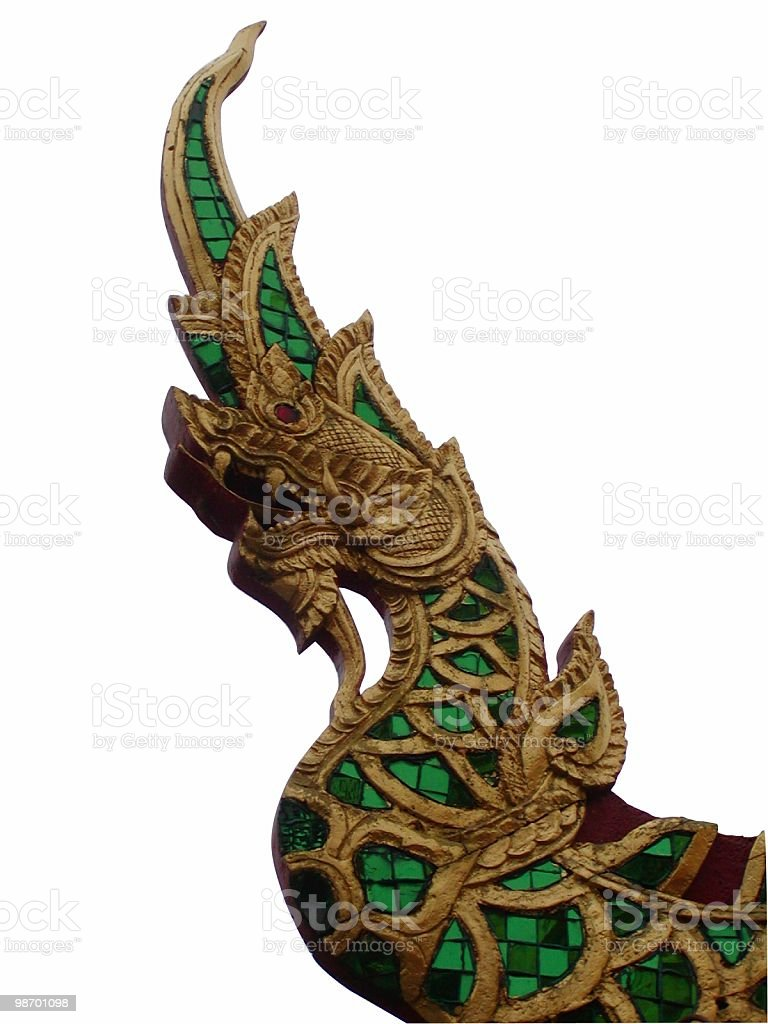 Thai Roof Ornament royalty-free stock photo
