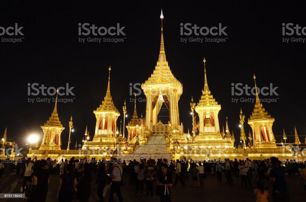 Thai Royal Crematorium in Bangkok