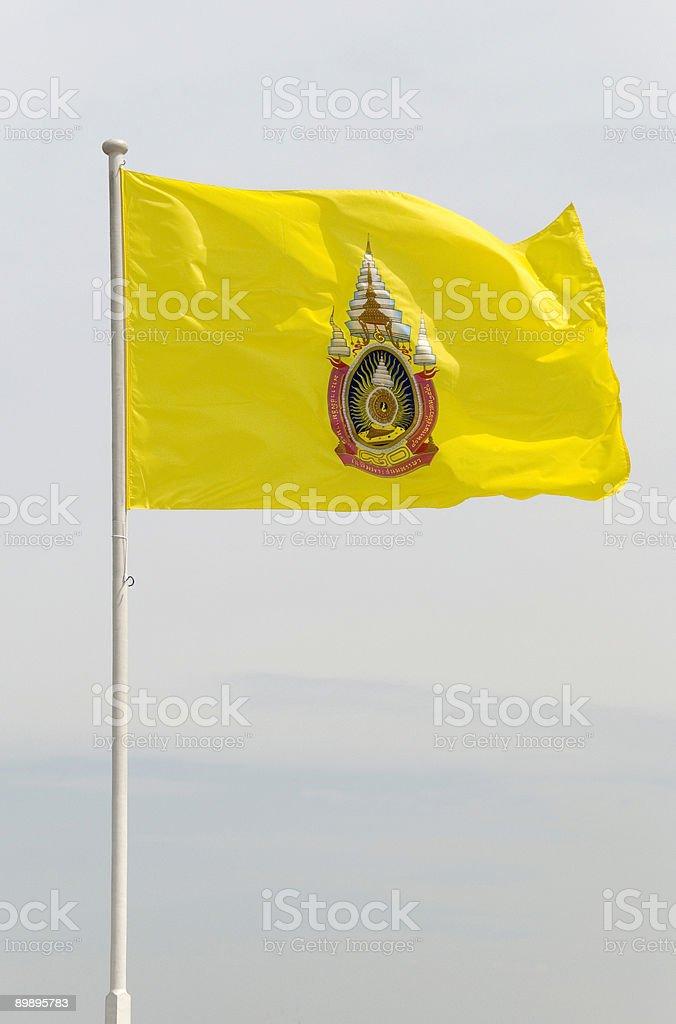 Тайский royal флаг Стоковые фото Стоковая фотография