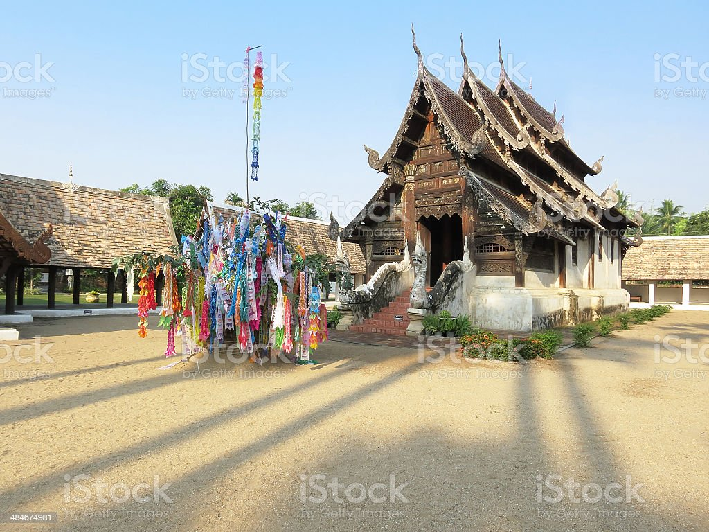 Thai sanctuary royalty-free stock photo