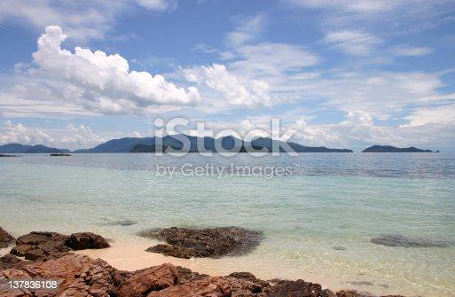 Sea Tarutao Satun Province, Thailand.