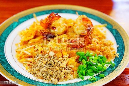 Pad Thai, Thai Food, Noodles, Cabbage, Fried