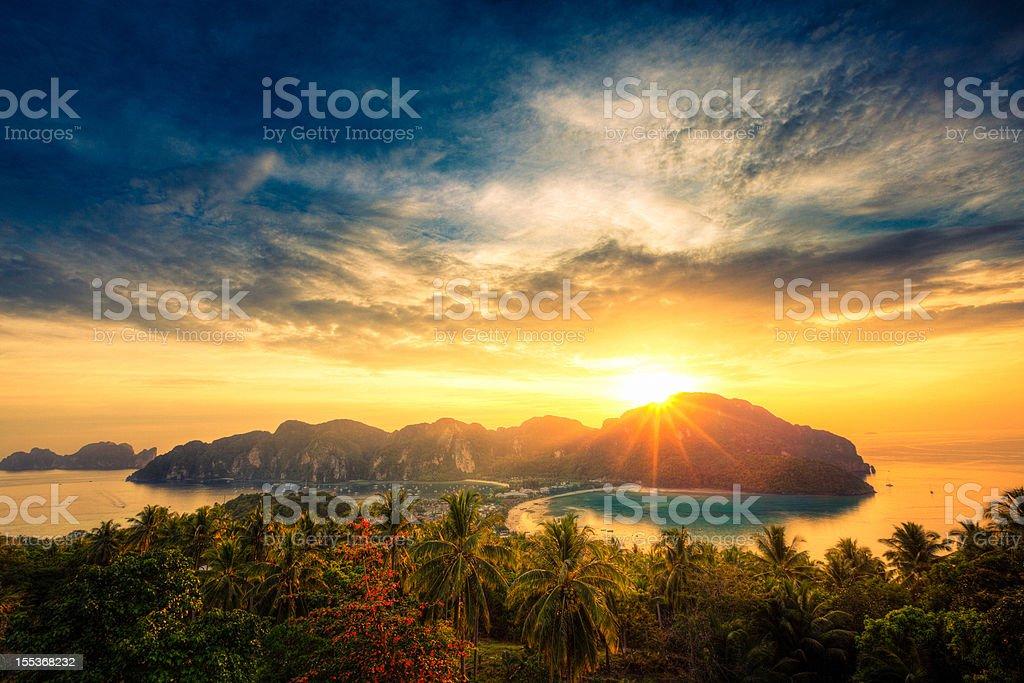 Thai seascape stock photo