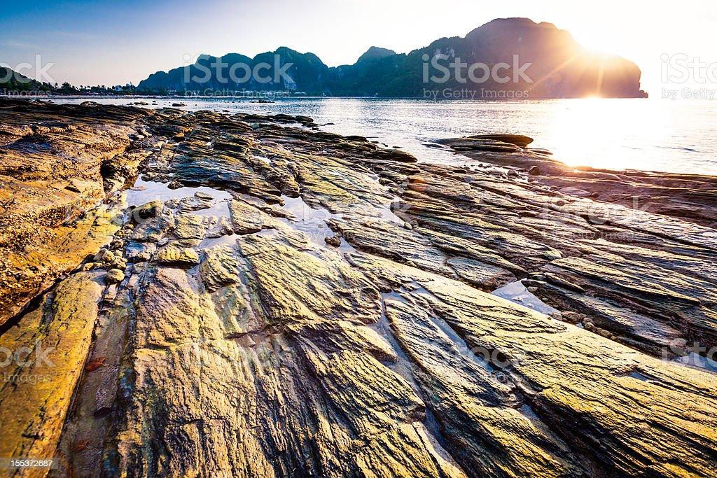 Thai seascape royalty-free stock photo