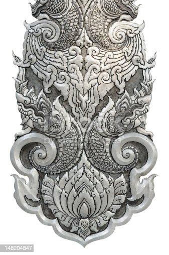 istock Thai silver handicraft. 148204847