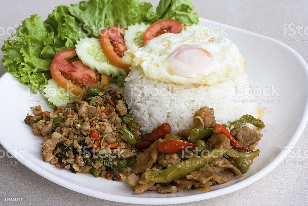Thai spicy food royalty-free stock photo