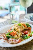 Thai spicy squid