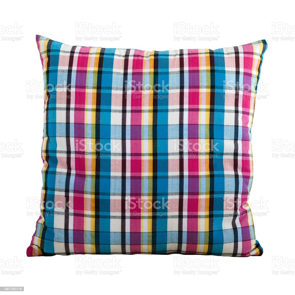 Thai style loincloth pattern pillow stock photo