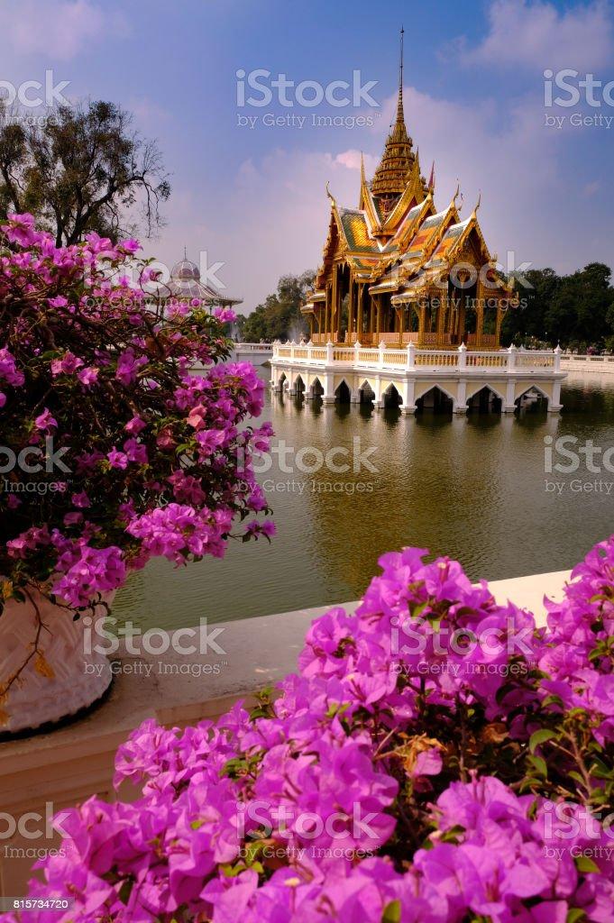 Thai Summer Palace stock photo