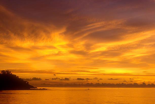 Thailändischen Sonnenuntergang 2 – Foto