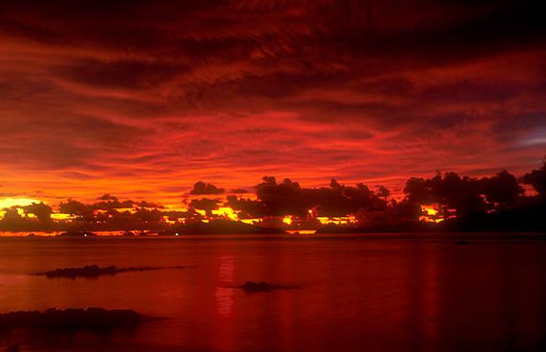 Thai Sonnenuntergang 3 – Foto