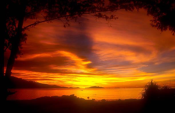 Thai Sonnenuntergang – Foto