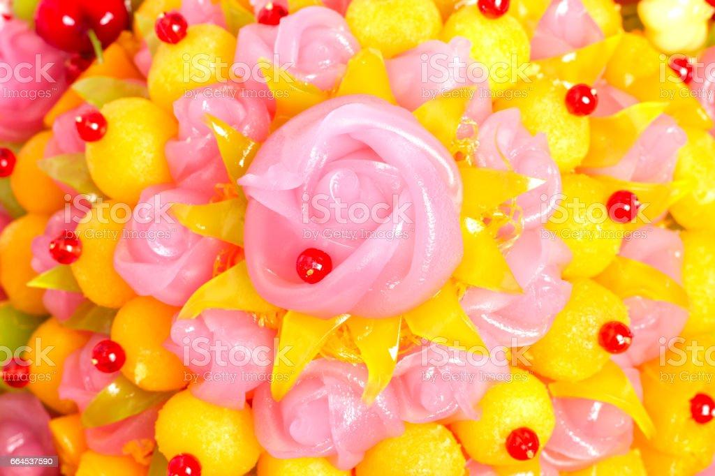 Thai Sweet Dessert royalty-free stock photo