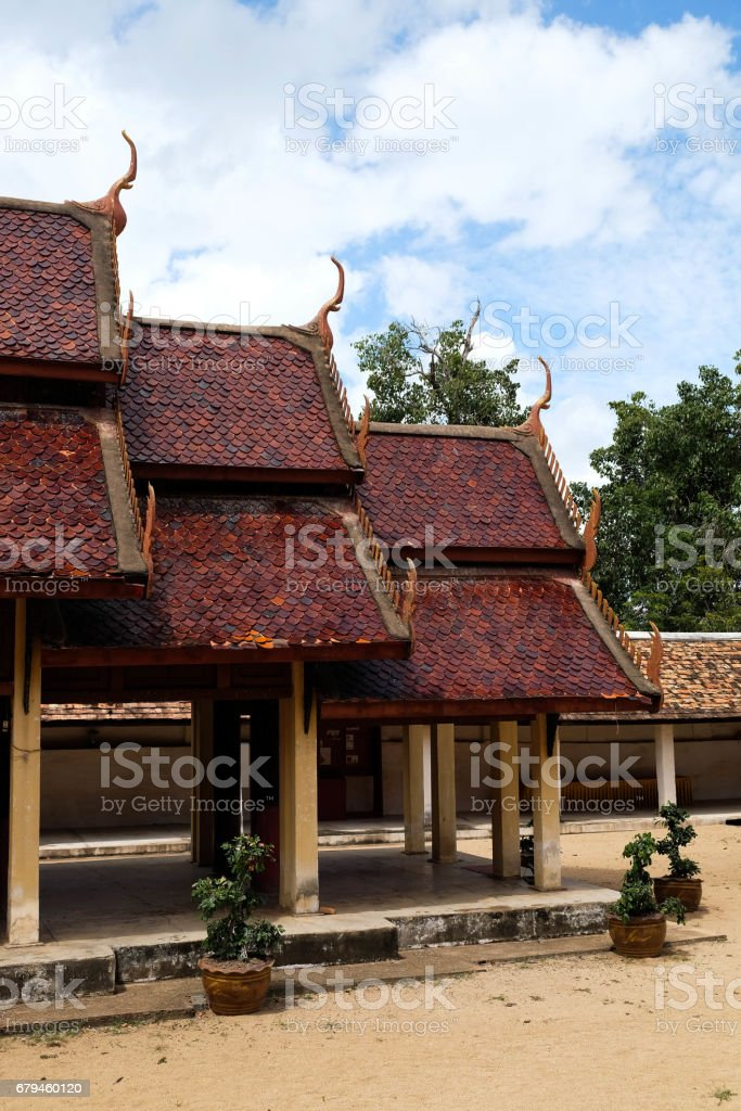 Thai Temple Church royalty-free stock photo