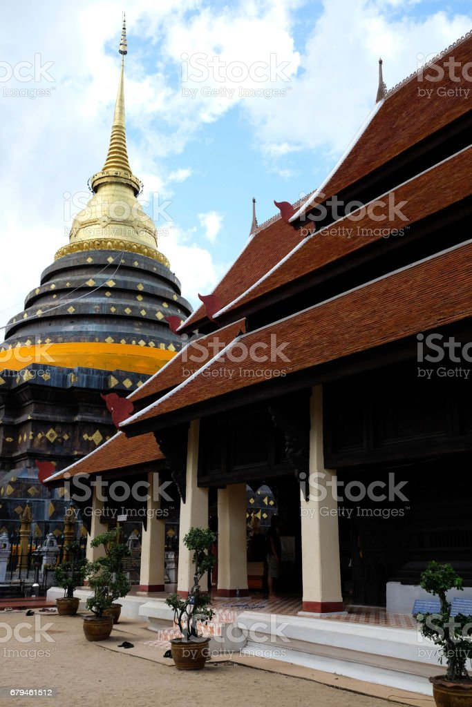 Thai Temple Church royalty-free stock photo