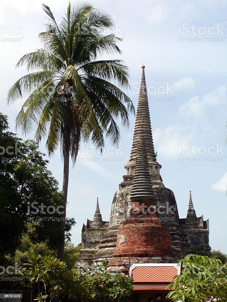 Tempio Thai foto stock royalty-free