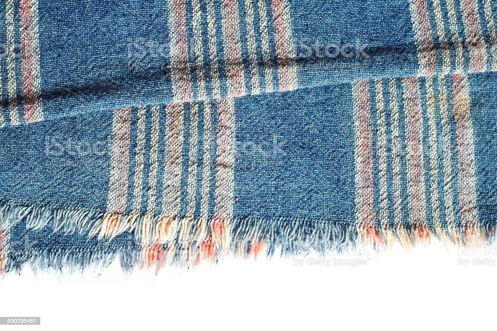 MAUHOM, Thai textile pattern of Thai's older fabric from cotton. stock photo