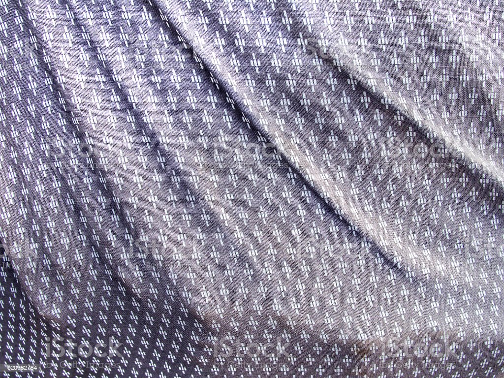 Thai traditional hand creaft fabric texture foto royalty-free