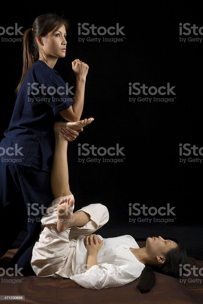 Thai Traditional Massage stock photo