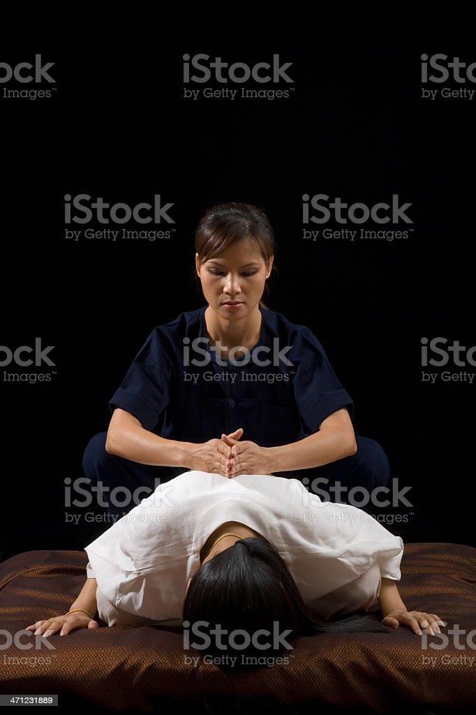 Thai Traditional Massage royalty-free stock photo