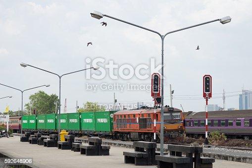istock Thai Train Railway 592648906
