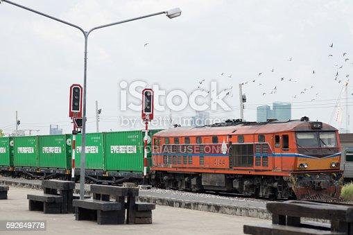 istock Thai Train Railway 592649778