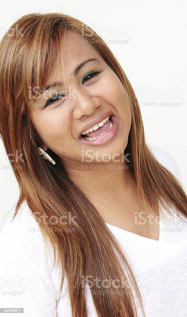 Thai woman. royalty-free stock photo