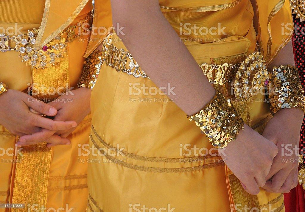 thai women royalty-free stock photo