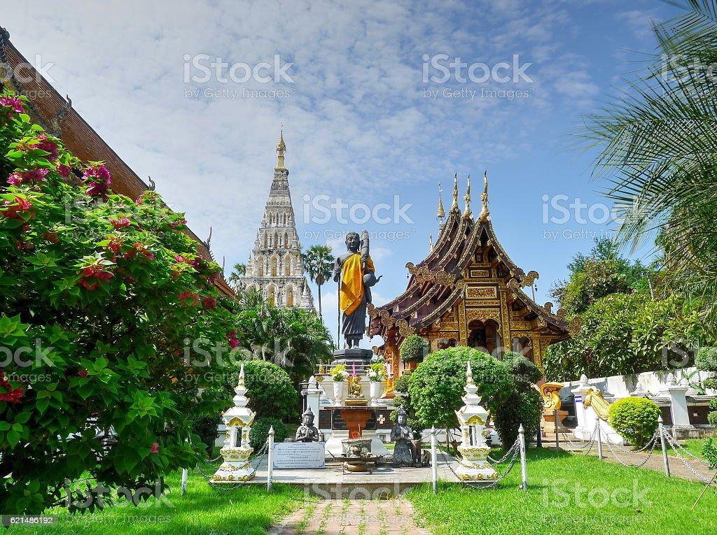 Tailandia antico tempio foto stock royalty-free