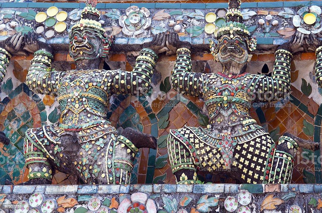 Thaïlande, Bangkok, Arun Temple photo libre de droits