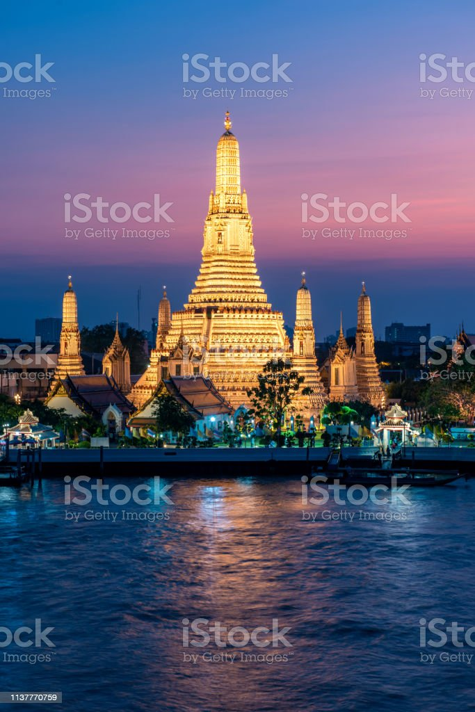 Thailand Bangkok night Thailand Bangkok night Architecture Stock Photo