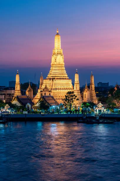 Thailand Bangkok night stock photo