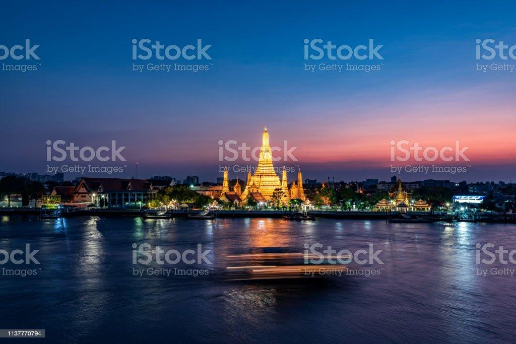 Thailand Bangkok night Thailand Bangkok night Architecture Stock Photo