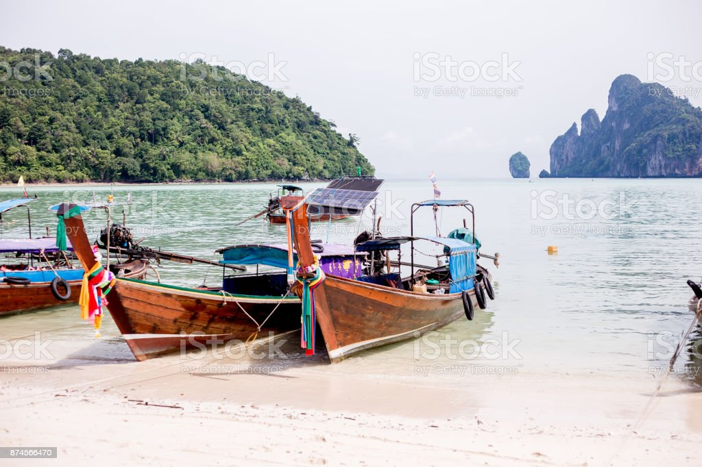 Thailand boten foto