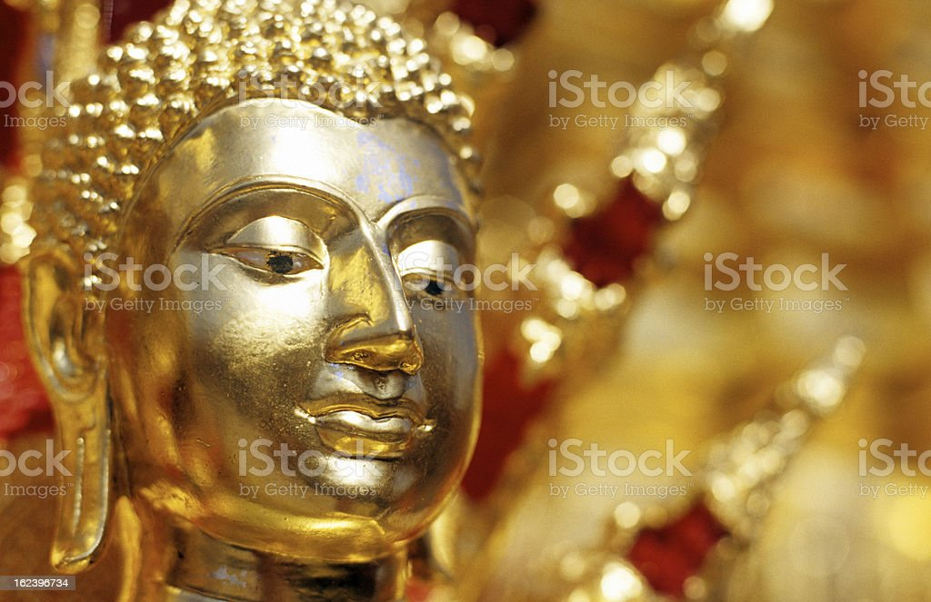 Thailand, Chiang Mai, Doi Suthep, buddha statue. royalty-free stock photo