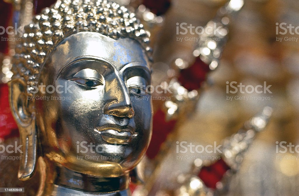 Thailand, Chiang Mai, Wat Phrathat Doi Suthep, Buddhist temple. royalty-free stock photo
