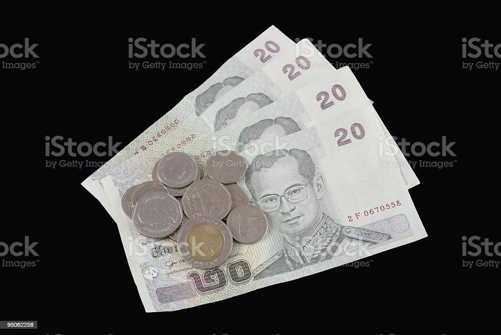 Thailand Currency royalty-free stock photo