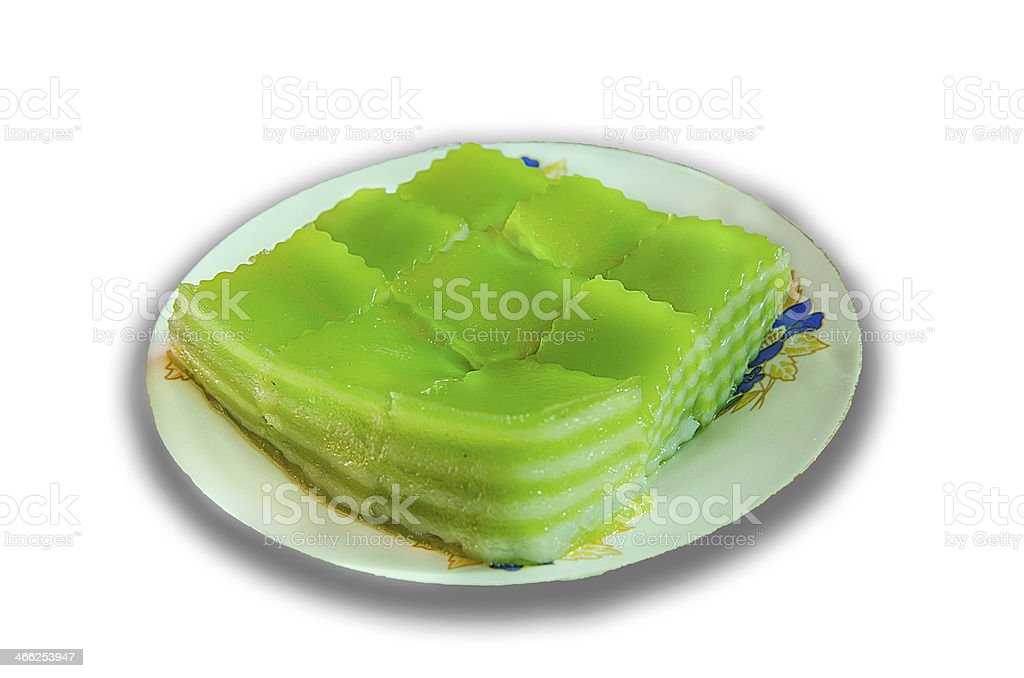 Thailand dessert stock photo
