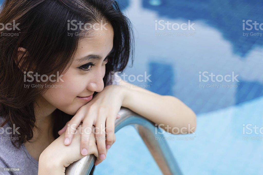 Thailand Girls stock photo