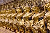 Grand Palace, Bangkok, selective focus,