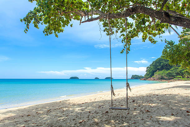 Thailand Koh Chang Island A view from Koh Chang island in Thailand. koh chang stock pictures, royalty-free photos & images