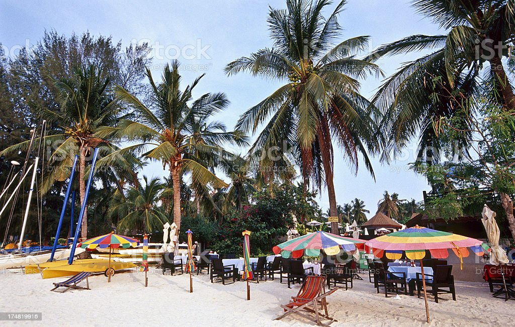 Thailand, Krabi Province, Ko PhiPhi, beachfront. royalty-free stock photo