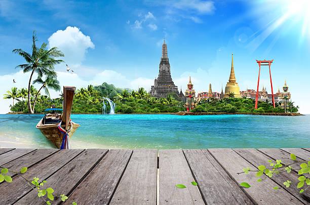 Thailand Meer-Landschaft, Konzept – Foto