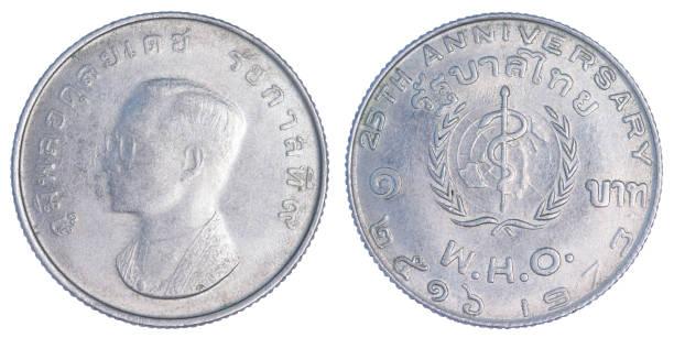 Thailand one baht 1973 (B.E. 2516)
