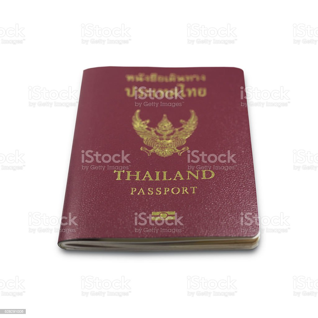 Thailand Passport Stock Photo & More Pictures of Airport